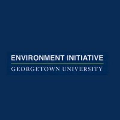 Georgetown Environment Initiative logo